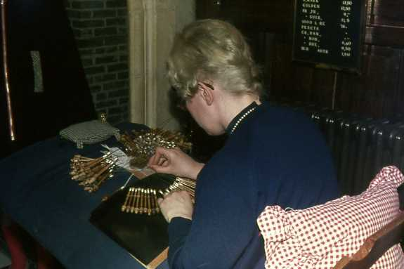 Belgian lace-maker